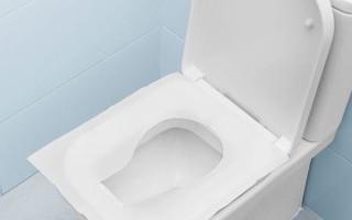 Накладки на унитаз: бумажные и сиденья с автоматически заменяемым покрытием