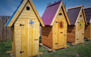 Строительство деревянного туалета на даче: от выбора места до установки двери